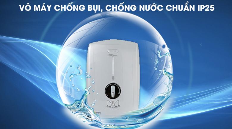 Lớp vỏ chống nước, chống bụi chuẩn IP25 - Máy nước nóng Centon GD600ESP RS