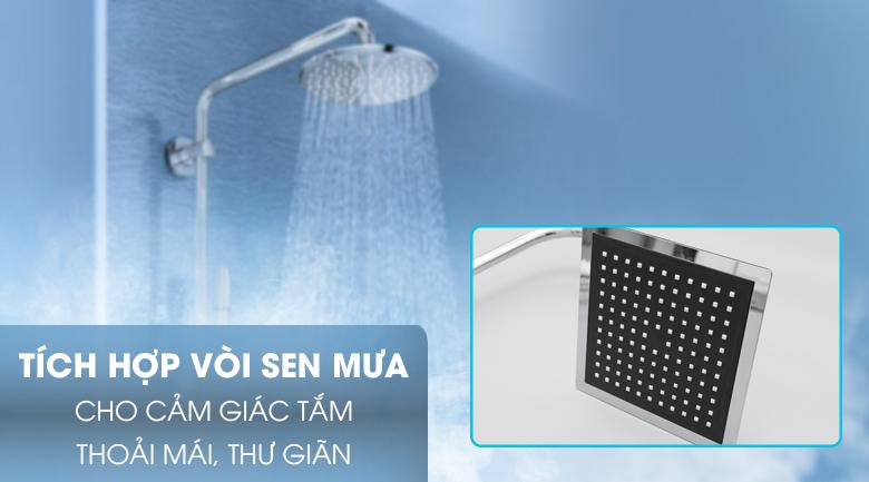 Vòi sen mưa - Máy nước nóng Centon GD600ESP RS
