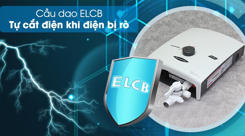 Cầu dao ELCB - Máy nước nóng Ariston SB35E-VN