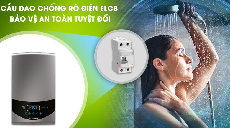 Cầu dao chống rò điện ELCB - Máy nước nóng Ariston ST45PE-VN
