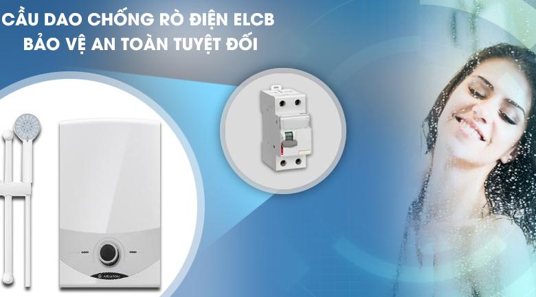 Chức năng ELCB - Máy nước nóng Ariston SM45E-VN
