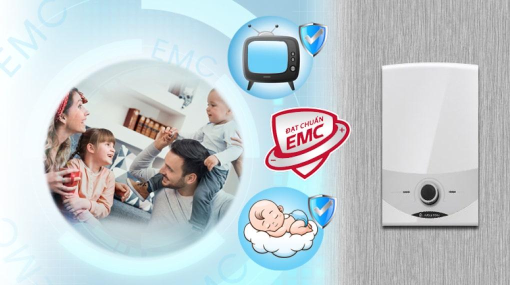 Tương thích điện từ EMC - Máy nước nóng trực tiếp Ariston 4500W SM45E-VN