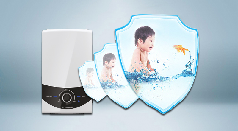 công nghệ ổn định nhiệt độ trên máy nước nóng Ariston SMC45E-VN