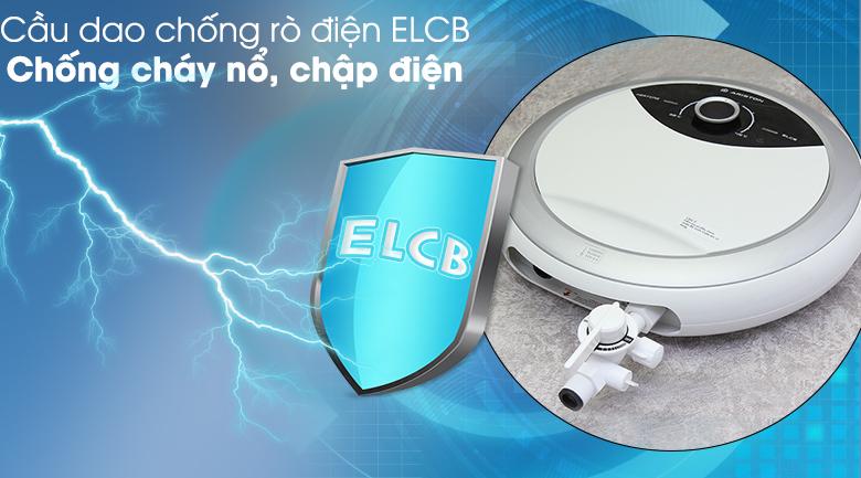 Cầu dao ELCB - Máy nước nóng Ariston RMC45E-VN 4500W