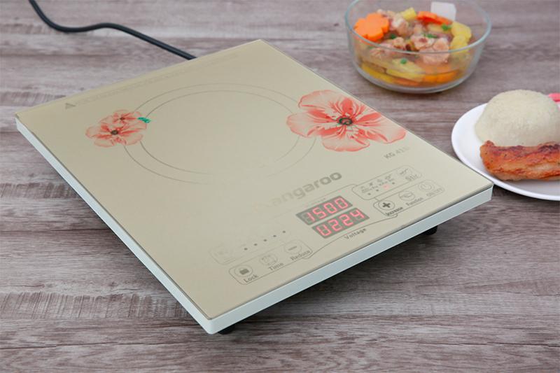 Bếp từ Kangaroo KG418I - thiết kế đẹp