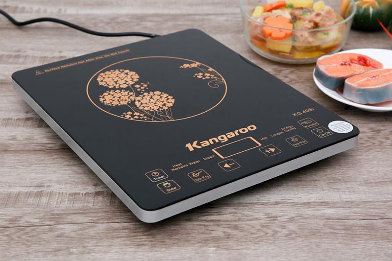 Nồi bật - Bếp điện từ Kangaroo KG408i