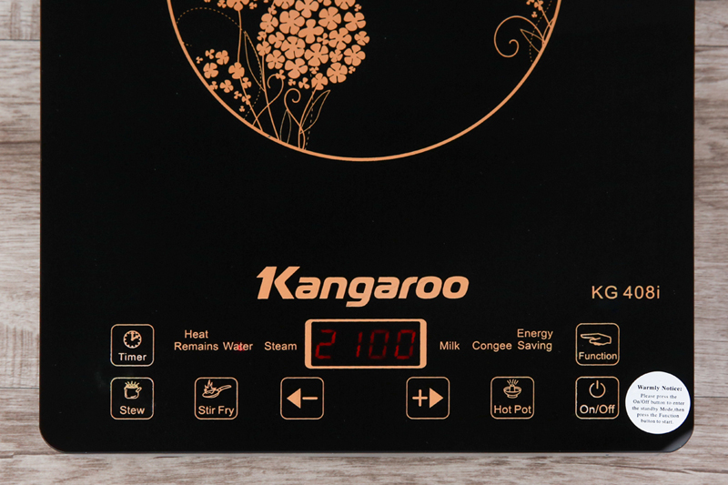 Tiện lợi, dễ dùng - Bếp điện từ Kangaroo KG408i