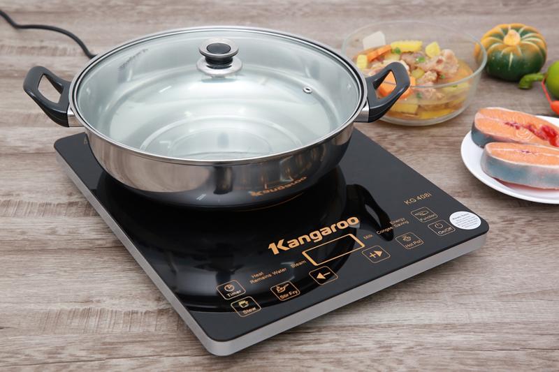 Kén nồi - Bếp điện từ Kangaroo KG408i