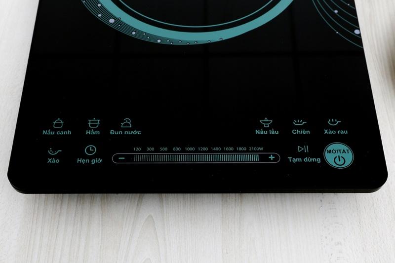Bếp điện từ Midea MI-T2117DB