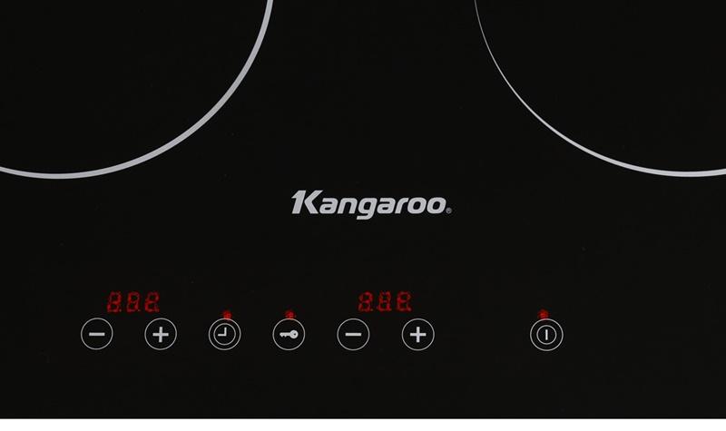 Bếp điện từ đôi Kangaroo KG498N