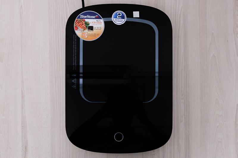 Mặt kính cường lực - Bếp điện từ BlueStone ICB-6658