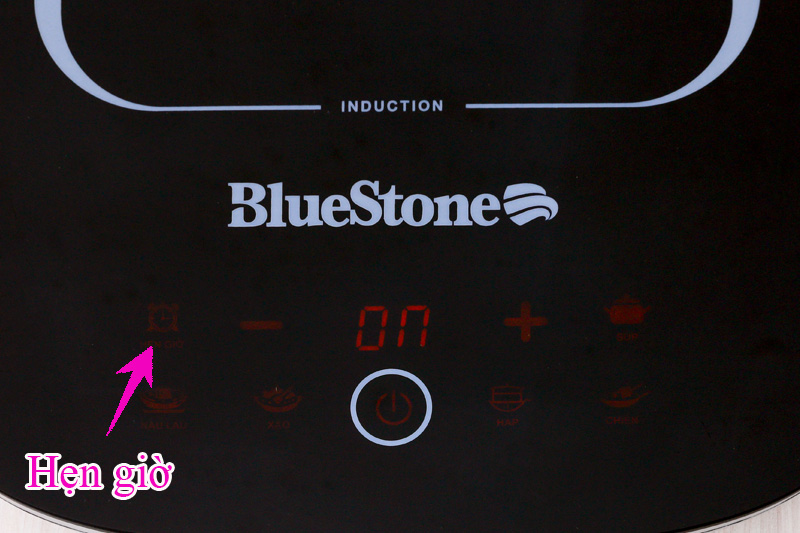 Hẹn giờ nấu xong - Bếp điện từ BlueStone ICB-6658
