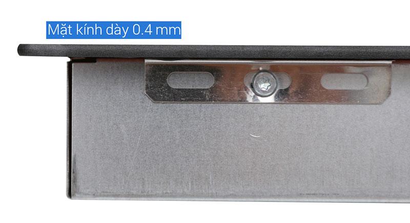 Mặt kính dày 0.4 mm - Bếp từ đôi Electrolux EHI7260BA
