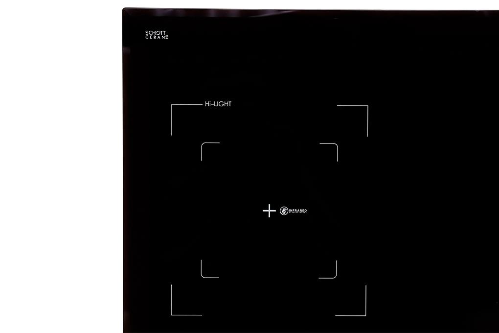 Mặt kính schott ceran của bếp từ hồng ngoại Sunhouse Apex APB9982