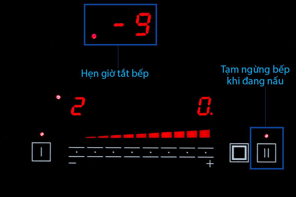 Chức năng của Bếp điện từ hồng ngoại đôi Apex APB9982