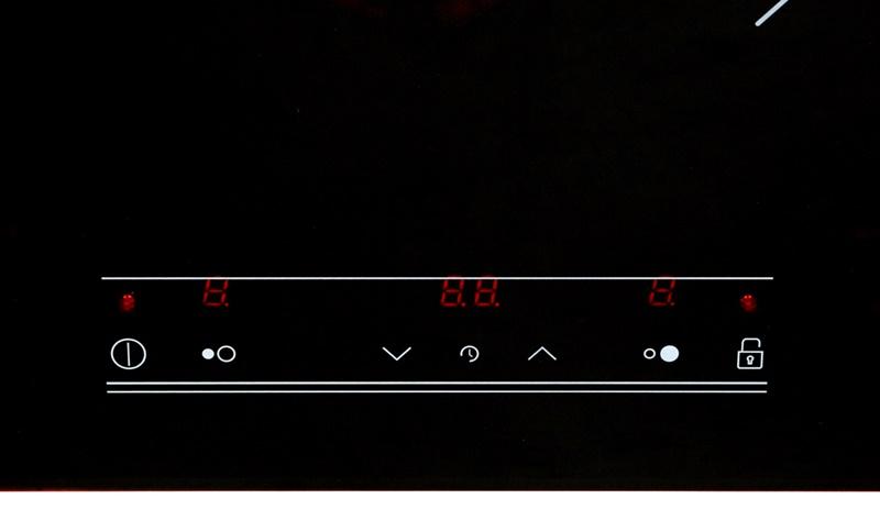 Điều khiển cảm ứng với các phím bấm có chỉ dẫn rõ ràng - Bếp từ đôi TEKA IR 721 SR