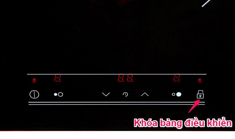 Chức năng khóa bảng điều khiển - Bếp từ đôi TEKA IR 721 SR