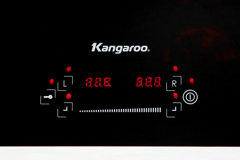 Bảng điều khiển hiện đại - Bếp điện từ hồng ngoại Kangaroo KG443I