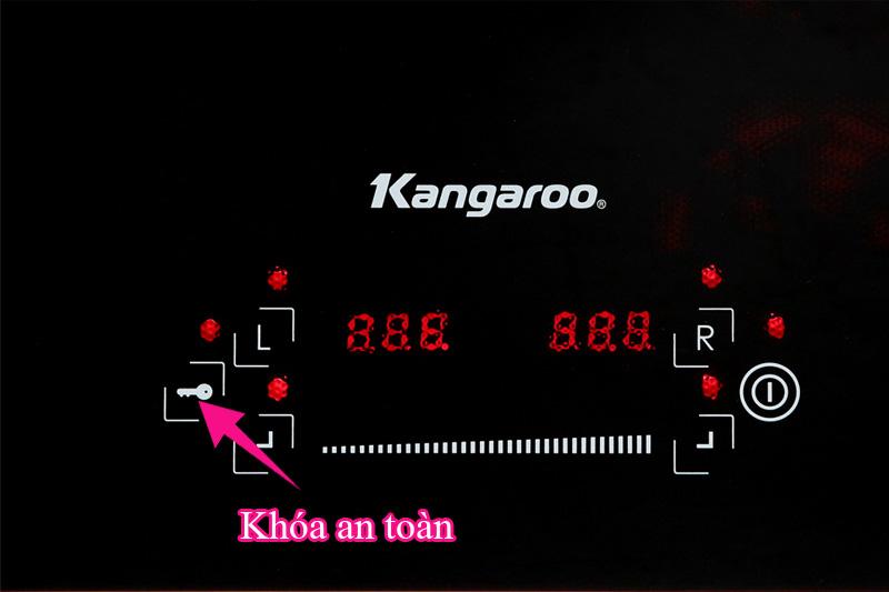 Khóa an toàn - Bếp điện từ hồng ngoại Kangaroo KG443I