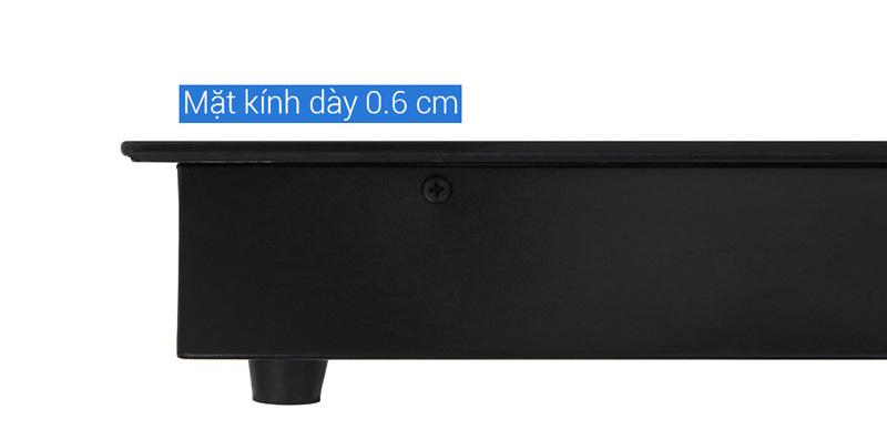 Mặt kính dày bền - Bếp điện từ hồng ngoại Kangaroo KG443I