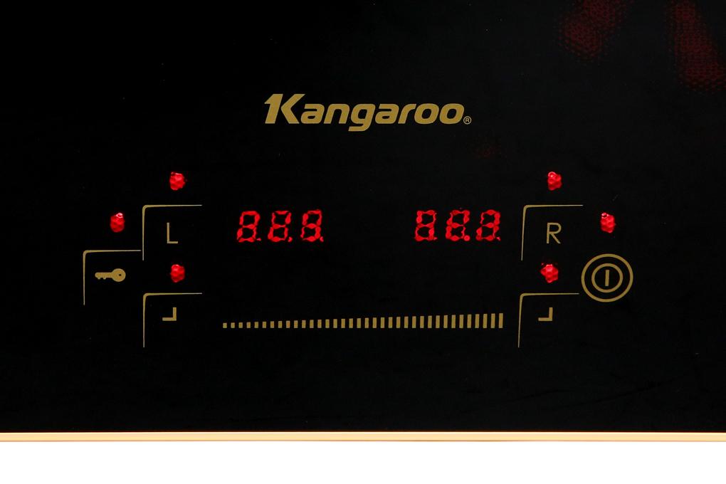 Bảng điều khiển cảm ứng nhanh nhạy - Bếp từ đôi Kangaroo KG438I