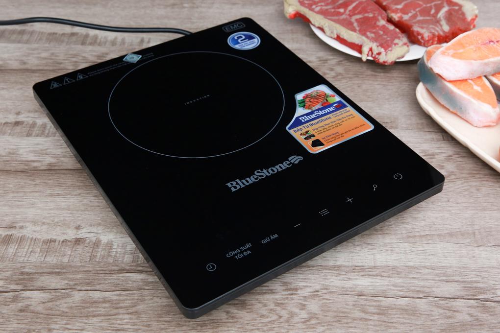 Loại bếp từ đơn gọn đẹp, hoạt động với công suất 2000 W - Bếp từ BlueStone ICB-6728