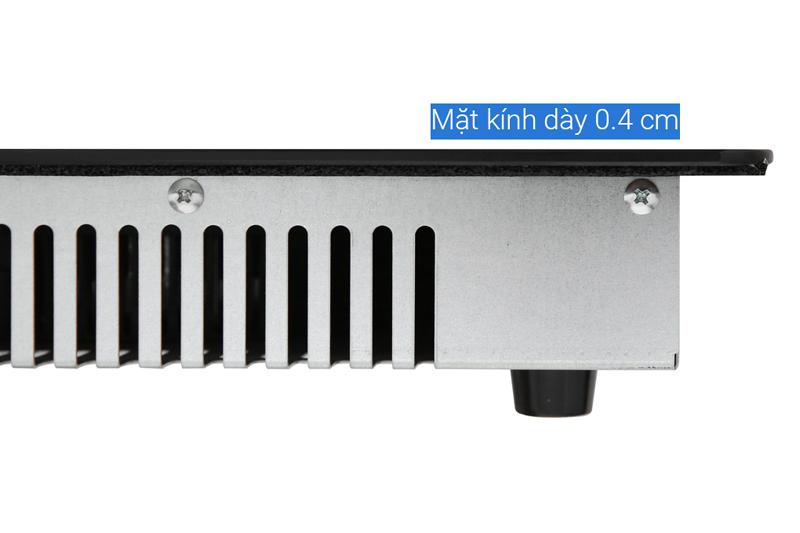 Kính dày -  Bếp điện từ đôi Bluestone ICB-6818