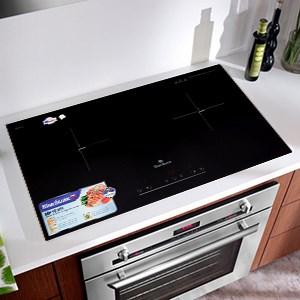 Bếp điện từ đôi lắp âm Bluestone ICB-6831 4000 W