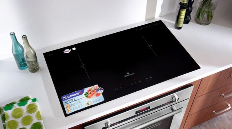 Bếp từ Bluestone có 2 lò đun, công suất 4000 W - Bếp điện từ đôi Bluestone ICB-6831