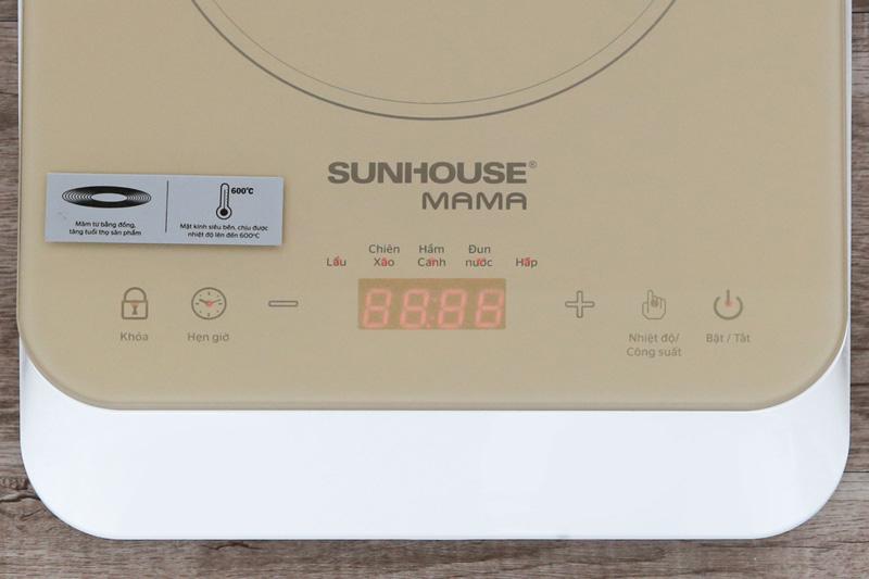 Dễ dùng - Bếp từ Sunhouse Mama SHD6868