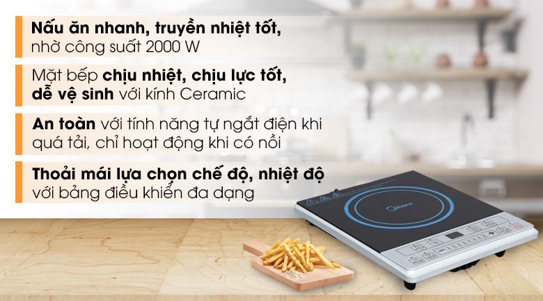 Bếp từ Midea MI-B2015DE(C)