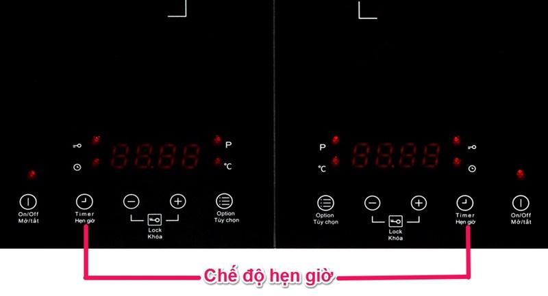 Chế độ hẹn giờ nấu 99 phút - Bếp từ đôi TEKA DS3502-P KG