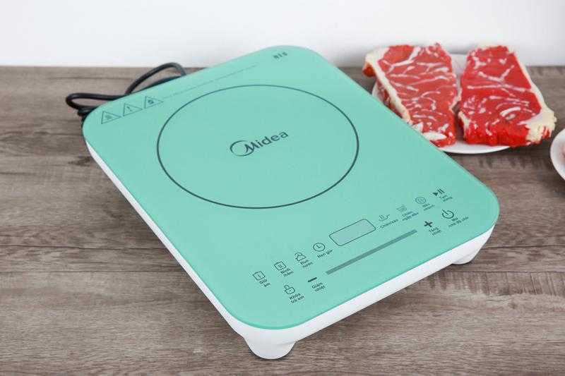 Thiết kế tạo ấn tượng - Bếp từ Midea MI-T2120DA