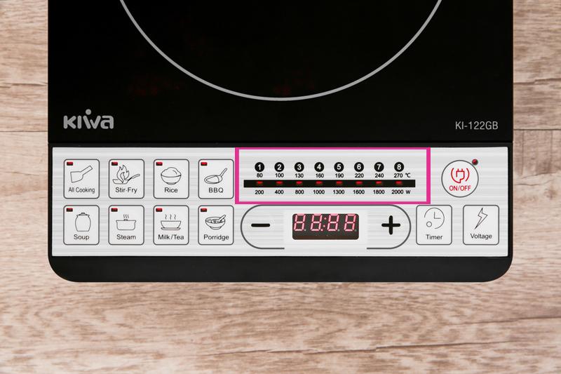 Công suất - Bếp từ Kiwa KI-122GB