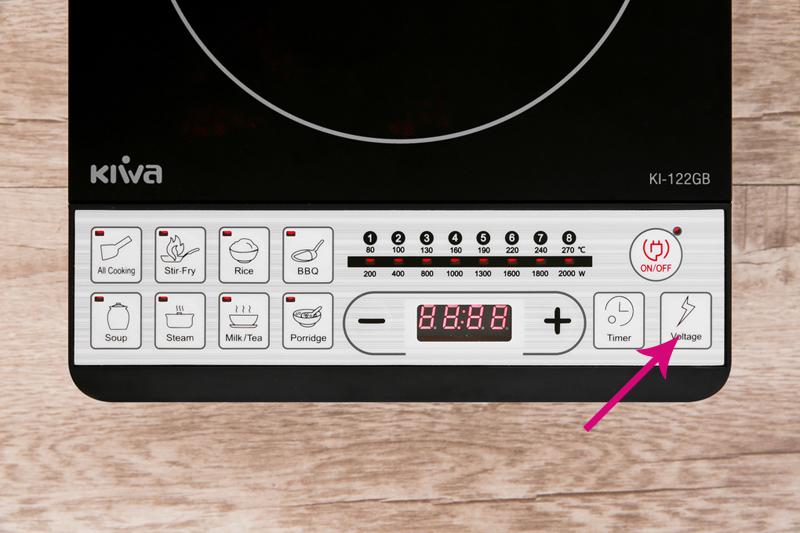 Kiểm tra điện áp - Bếp từ Kiwa KI-122GB