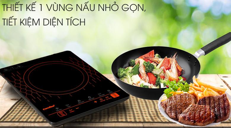 Bếp đơn gọn đẹp - Bếp điện từ Comfee CI-TD2120A