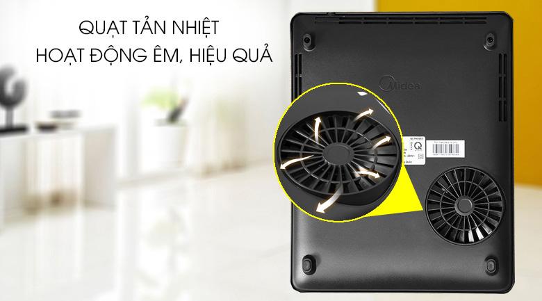Quạt tản nhiệt hiệu quả - Bếp điện từ Comfee CI-TD2120A