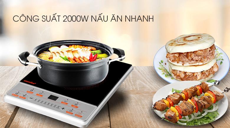 Nấu ăn nhanh - Bếp điện từ Comfee CI-BD2020B