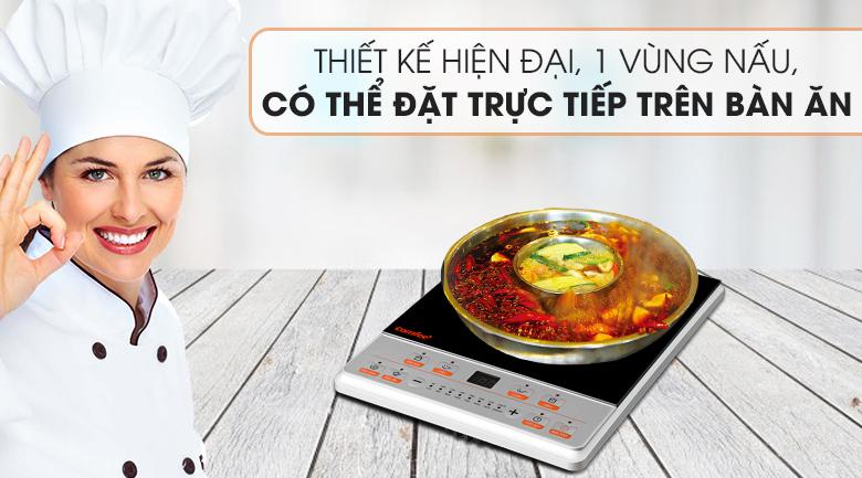 Bếp từ Comfee CI-BD2020B - Thiết kế
