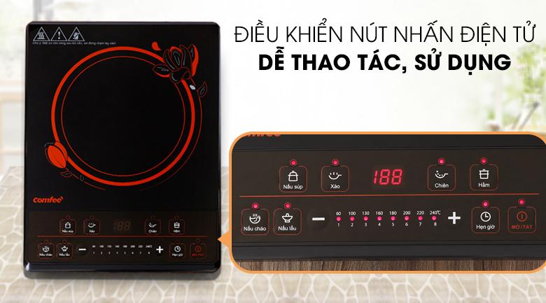 Bếp điện từ Comfee CI-BD1920C - Bảng điều khiển