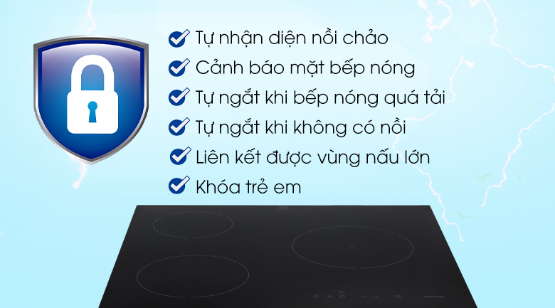 Bảo vệ Electrolux E6203IOK
