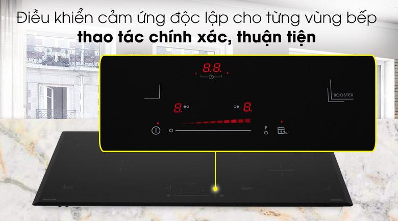 Bảng điều khiển cảm ứng - Bếp từ đôi Electrolux EHI7325BA