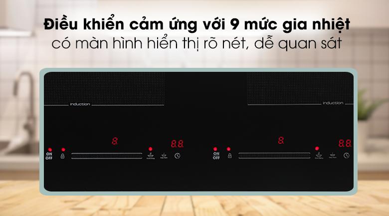 Điều khiển Bếp từ đôi Kocher DI-669