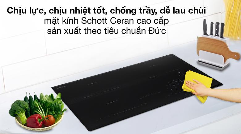 Bền bỉ - Bếp từ đôi Kalite KL-3900