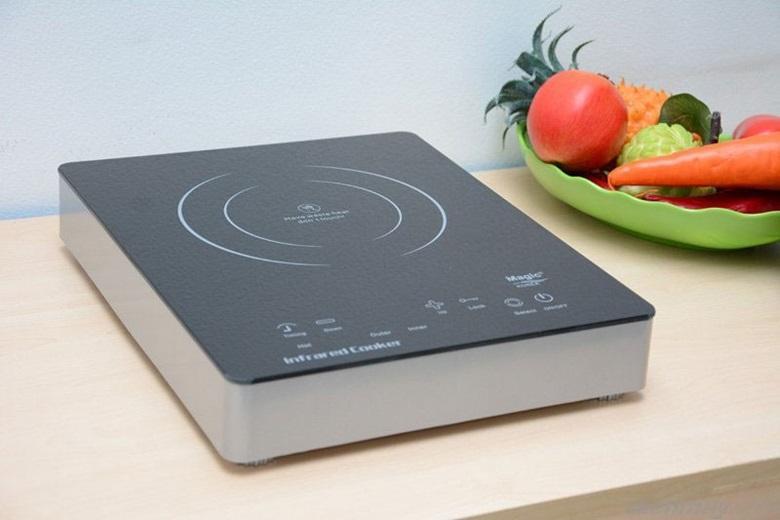 Mặt bếp bằng kính chịu nhiệt