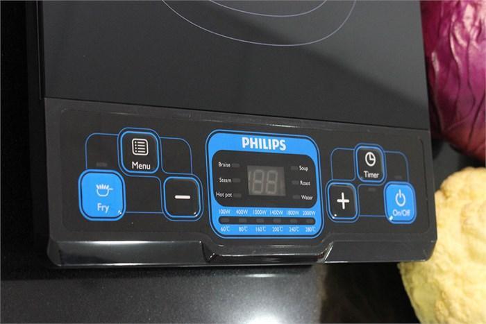 Các chế độ, chức năng được điều khiển dễ dàng bằng nút bấm điện tử và đèn LED thông minh