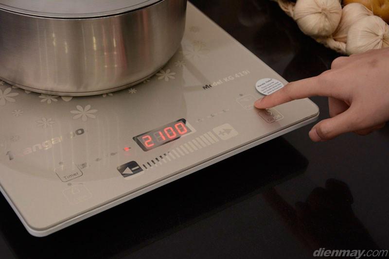 6 chế độ nấu tự động - Bếp từ Kangaroo KG419i