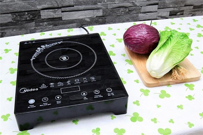 Có thể nướng món ăn trực tiếp trên bếp hồng ngoại