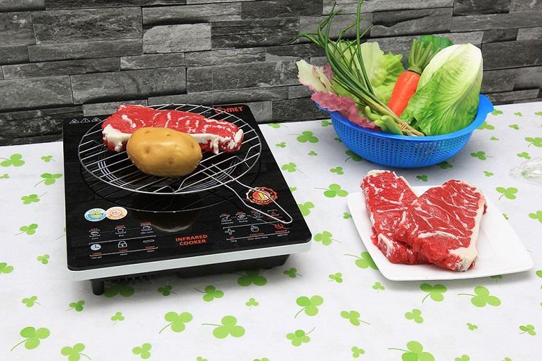 Bếp có thể nướng được thực phẩm