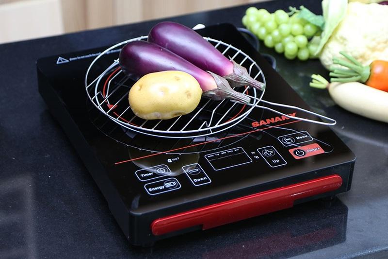 Có vỉ nướng - Bếp hồng ngoại Sanaky SNK-2101HG